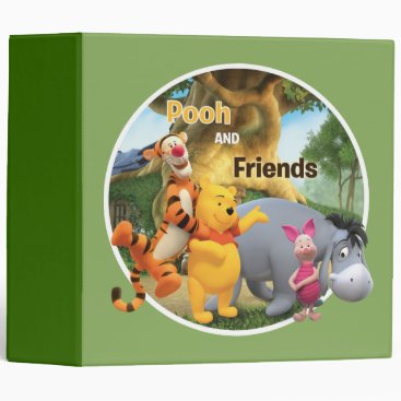Pooh & Friends 9 3 Ring Binder