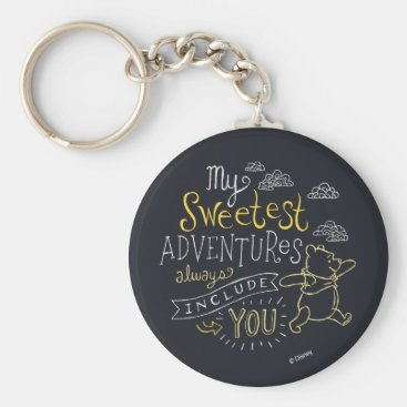 Pooh | My Sweetest Adventures Keychain