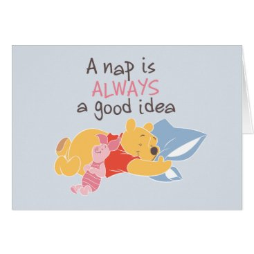 Pooh & Piglet | A Nap is Always a Good Idea