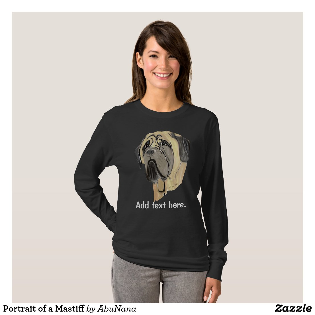 Portrait of a Mastiff T-Shirt