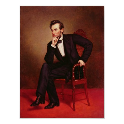 Portrait of Abraham Lincoln Posters