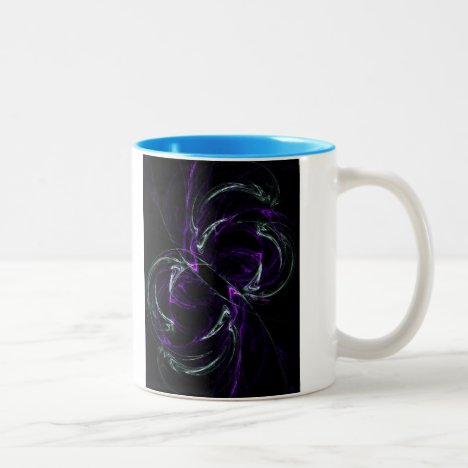 Possibilities - Cosmic Purple & Amethyst Two-Tone Coffee Mug