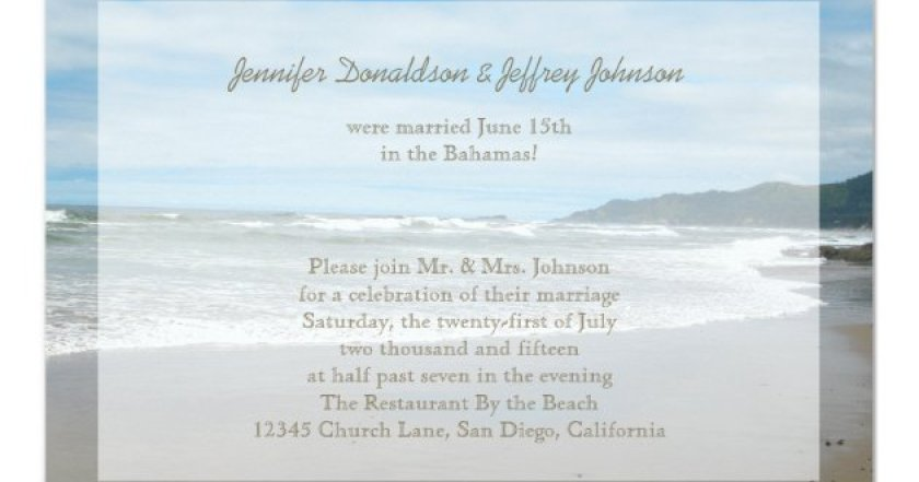Destination Wedding Invitation A Modern In Cabo