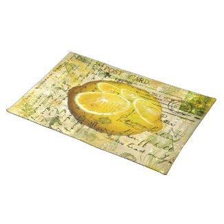 Postcard Lemons