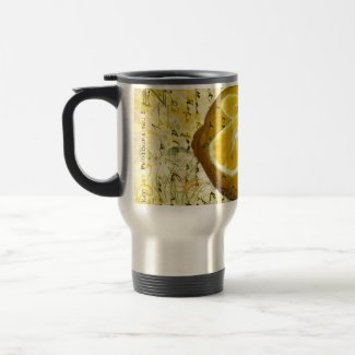 Postcard Lemons Coffee Mugs