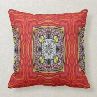 Powerful Ornament Throw Pillow