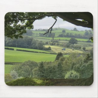 Powys at Autumn Equinox Mouse Pad