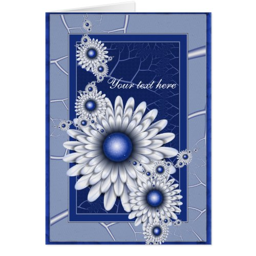 Pretty Blue Eyes 2 Greeting Card