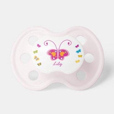 Pretty Butterflies Pacifier