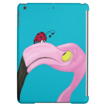 Pretty Pink Flamingo Case For iPad Air