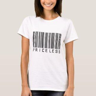 Priceless - Barcode - Shirt shirt