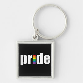 Pride Blck Keychain