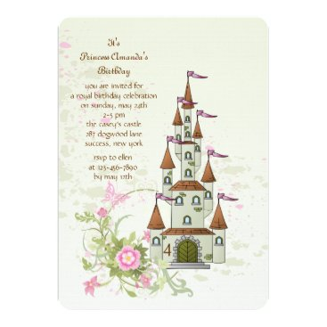 Princess' Castle Invitation