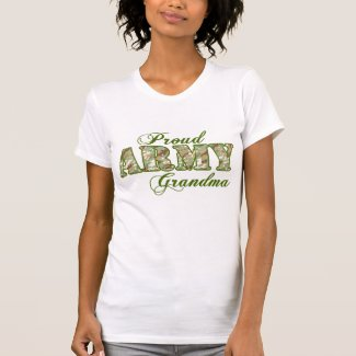 Proud Army Grandma Tee Shirts
