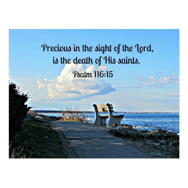 Psalm 11615 Postcard