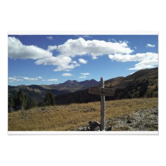 Ptarmigan Pass Colorado Photo Print