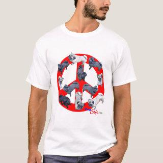 Pugs for Peace Tee Shirt