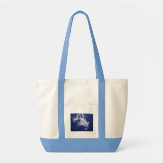 Pulled Cotton Clouds Bag bag