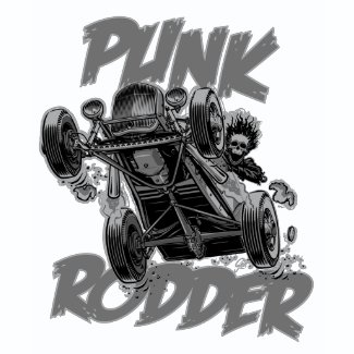 Punk Rodder Grey shirt