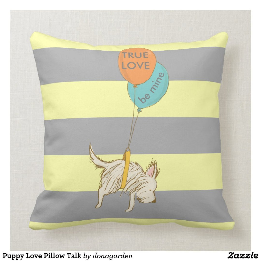 Puppy Love Pillow Talk