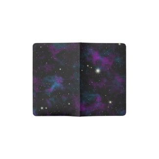 Purple and Blue Galaxy Moleskine Notebook