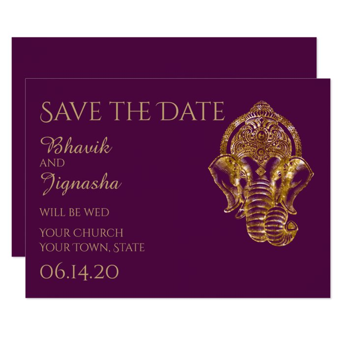 Unique Save Date Wedding Cards