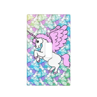 Purple and Pink Unicorn Pattern
