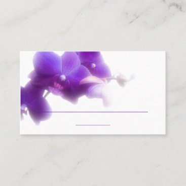 "Purple Place Card (3.5"" x 2.0"", 100 pack)"