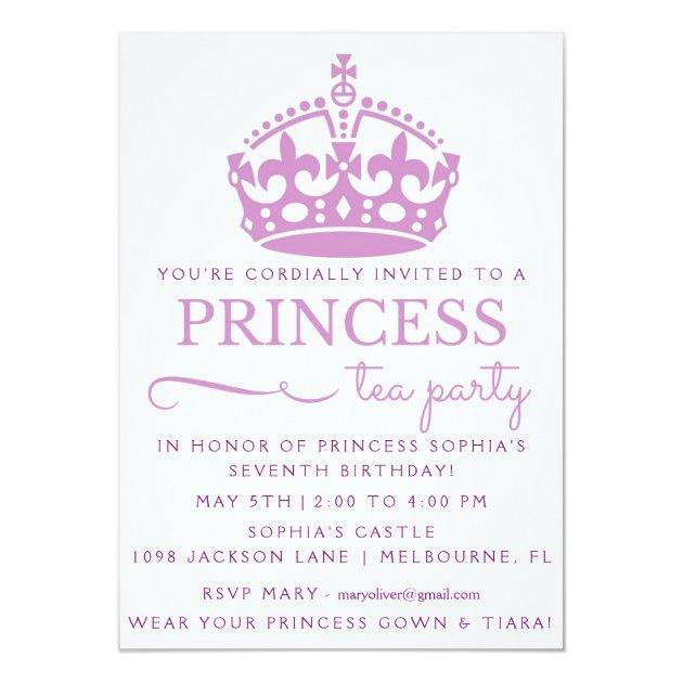 princess birthday greeting cards