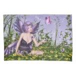 Purple Spring Fairy (2 sides) Pillowcase