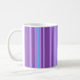 Purple stripes - Mug mug