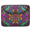 Purple Turquiose and Yellow Mandala Pattern rickshaw_flapsleeve