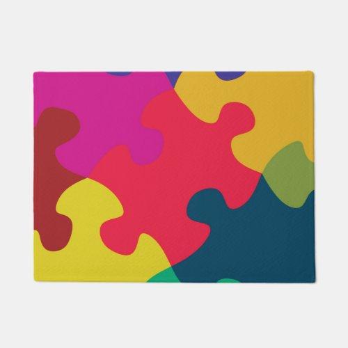 Puzzled Doormat