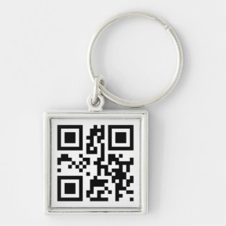 QR Code - I love you! Key Chains