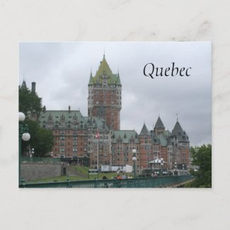 Quebec Postcards postcard