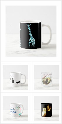 Quirky and Funny Animal Mugs