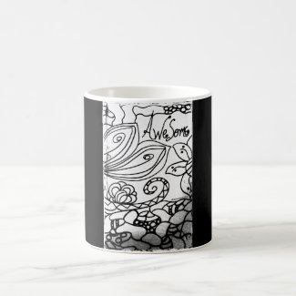 Rachel Doodle Art - Awesome Classic White Coffee Mug