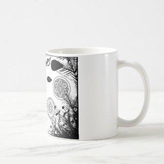Rachel Doodle Art - Daydreamer Classic White Coffee Mug