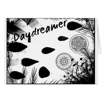 Rachel Doodle Art - Daydreamer Greeting Card