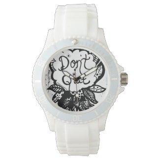 Rachel Doodle Art - Don't Quit Watches