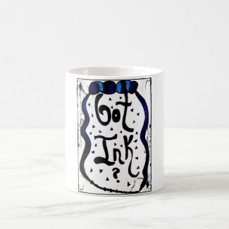 Rachel Doodle Art - Got Ink? Classic White Coffee Mug