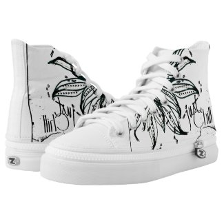 Rachel Doodle Art - Just Chill Printed Shoes