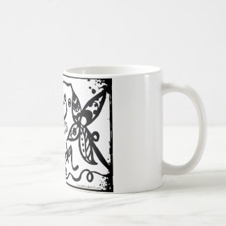 Rachel Doodle Art - Livin My Life Like It's Golden Classic White Coffee Mug