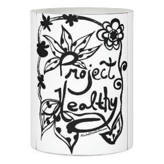 Rachel Doodle Art - Project Healthy Flameless Candle