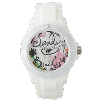 Rachel Doodle Art - Sandy Beaches Watches