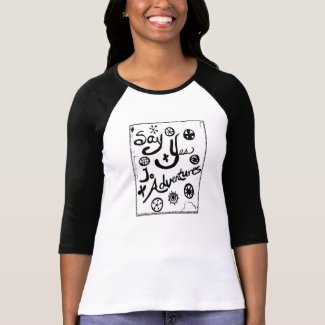 Rachel Doodle Art- Say Yes To Adventures T-shirt