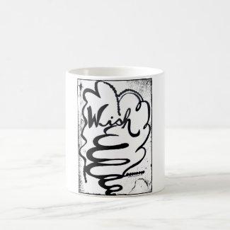Rachel Doodle Art - Wish Classic White Coffee Mug