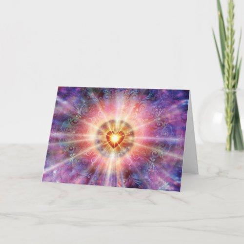 Radiant Heart Card