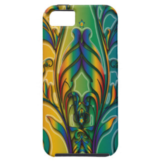 Rainbow Floral Abstract iPhone 5/5S Cases