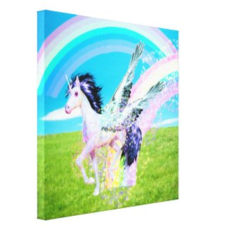 Rainbow Maker Canvas Print